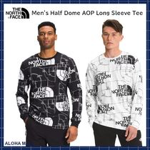 【THE NORTH FACE】Men's Half Dome AOP Long Sleeve Tee♪