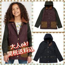 Barbour(バブアー) キッズアウター 大人OK!関税送料込!【BARBOUR/バブアー 】Girls  Beadnell Wax