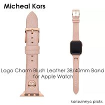 MICHEAL KORS* Blush Leather 38/40mm Band for Apple Watch