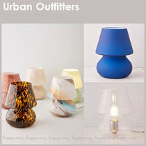 Urban Outfitters(アーバンアウトフィッターズ) 照明 Urban Outfitters◆ガラス テーブルランプ 7色展開♪
