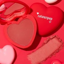 COLOURPOP チーク luv me not  赤系