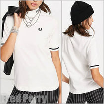 FRED PERRY(フレッドペリー) Tシャツ・カットソー 【Fred Perry】branded high neck ロゴTシャツ 送料込