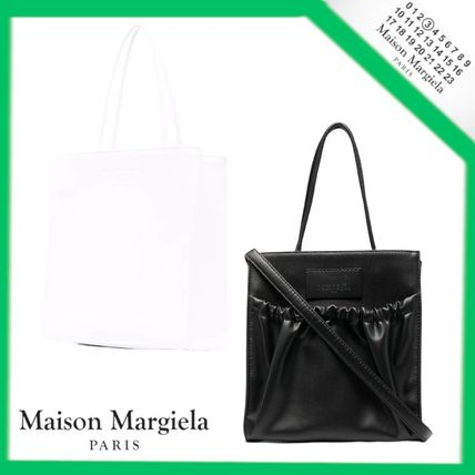 21AW【MM6】Maison Margiela Inside Out バッグ ミニ レザー