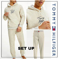 UK発★TOMMY HILFIGER 'LOUNGE RECYCLED SHERP' セットアップ