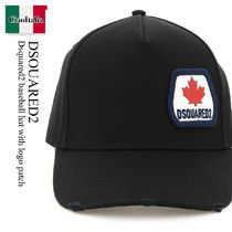 Dsquared2 baseball hat with logo patch