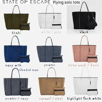 【STATE OF ESCAPE】Flying solo tote フライングソロトート