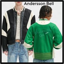 ANDERSSON BELL(アンダースンベル) ジャケットその他 ★関税込★ANDERSSON BELL★LEATHER MOTORCYCLE PADDED JACKE.T