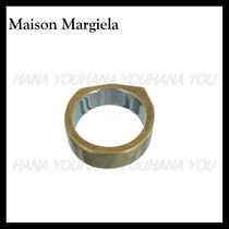 【Maison Margiela Outlet】リング Yellow Gold 内側ロゴ