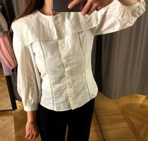 & Other Stories新作☆Scalloped Statement Collar Blouse