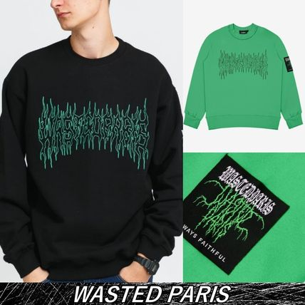 *WASTED PARIS*【送料無料】★FIRE CULT★長袖 スウェット
