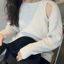 """COS(コス) ニット・セーター """"COS"""" KNITTED CUT-OUT JUMPER OFFWHITE"""