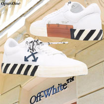 Off-white LOW VULCANIZED ECO CANVAS SNEAKERS 正規店