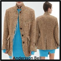 ANDERSSON BELL(アンダースンベル) ジャケット ☆関税込☆ANDERSSON BELL★DORIS ROUGH STITCH JACKE.T★