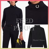 FRED PERRY(フレッドペリー) Tシャツ・カットソー 【送料関税込】*FRED PERRY*ロゴ ロールネックトップ 211006