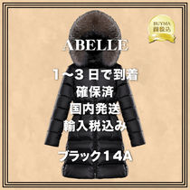 MONCLER(モンクレール) キッズアウター 【 国内発送1~3日で到着 】ABELLEブラック14A★MONCLER★確保済