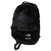 Supreme × The North Face Faux Fur Backpack black