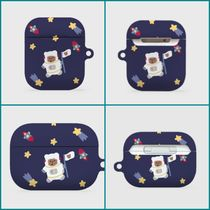 theninemall★astronaut gummy airpods hard case airpodsケース