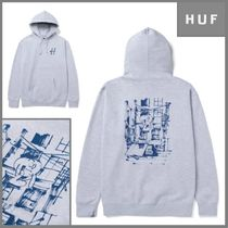 HUF×JAMES JARVIS プリントフーディ