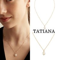 TATIANA【送料込】ネックレス★Mignon Pearl Point Necklace