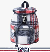 Tommy Jeans★正規品★Heritage Check バックパック/安心追跡付