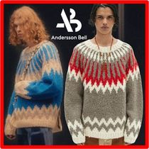 ANDERSSON BELL(アンダースンベル) ニット・セーター 人気★【ANDERSSON BELL】★HANDMADE NORDIC CREW-NECK SWEATE.R