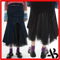 ANDERSSON BELL(アンダースンベル) スカート 人気☆【ANDERSSON BELL】☆INNA BELTED MESH SKIRT.S☆スカート