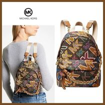 【MICHAEL KORS】Slater Extra Small Convertible Backpack-ロゴ