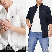 【Fred Perry】oxford ロゴシャツ 送料込