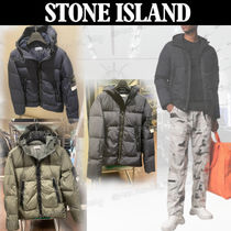【STONE ISLAND】 *40123*GARMENT DYED CRINKLE REPS  NYDOWN