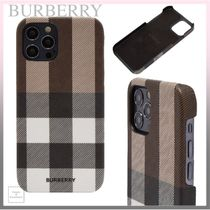 *BURBERRY* RUFUS MAGSAFE iPhone12/12 Pro ケース