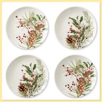 Williams Sonoma Woodland Berry Appetizer Plate 4枚セット