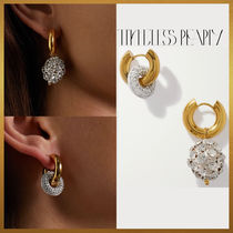 【Timeless Pearly】Mismathced Crystal ピアス フランス製