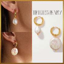 【Timeless Pearly】Mismathced Pearl ピアス フランス製