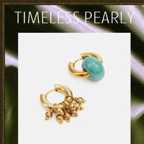 TIMELESS PEARLY◆セラミックジュエリー フープピアス