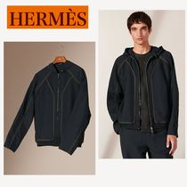 """HERMES 直営店《""""Ganses colorees"""" hooded sweater》"""