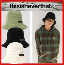 ☆21AW 新作☆【thisisneverthat】☆Knitted Bucket Hat ハット