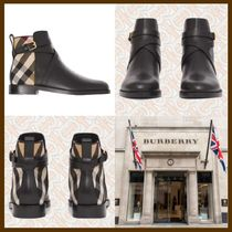 21AW◆気品感じる存在感◆BURBERRY◆Leather Ankle Boots