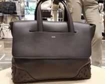 TOD'S(トッズ) ビジネスバッグ・アタッシュケース VIPセール60%オフ【TODS XBMGGTY1200 LEAHTER BAG】
