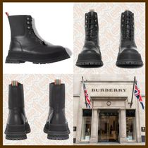 21AW◆リュクスな佇まい◆BURBERRY◆Lace-up Leather Boots