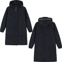 Tommy Hilfiger★WOMAN ロゴ ロングパーカー