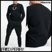 【FRED PERRY】laurel wreath ロゴ スウェット ★送料込★