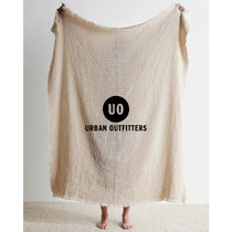 【Urban Outfitters】リサイクル ワッフル スローブランケット