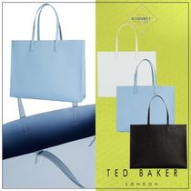 TED BAKER(テッドベーカー) トートバッグ TED BAKER* トートバッグ ショッパーバッグ 合成 ロゴ 3カラー