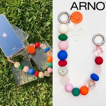 ARNO(アルノ) iPhone・スマホケース ●ARNO● BEADS COLORFUL SMILE STRAP iPhone & Galaxy CASE