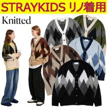 【KNITTED】Bulky Brush Agile Cardigan ★ STRAYKIDS リノ着用