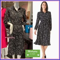 【kate spade】星柄★scattered stars button-front shirtdress