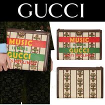 Gucci 100周年 ポーチ クラッチ バッグ 小物入 ロゴ 花 送料込み