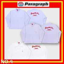 [Paragraph] 21FW Hand Script Embroidery Shirts NO.4/追跡付