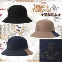 【VivienneWestwood】新作フエルト素材♪2トーン バケットハット