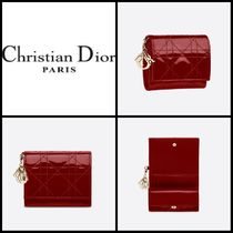 Chrisitian Dior★PORTEFEUILLE LOTUS LADY DIOR★CDウォレット